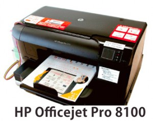 HP OfficejetPro8100